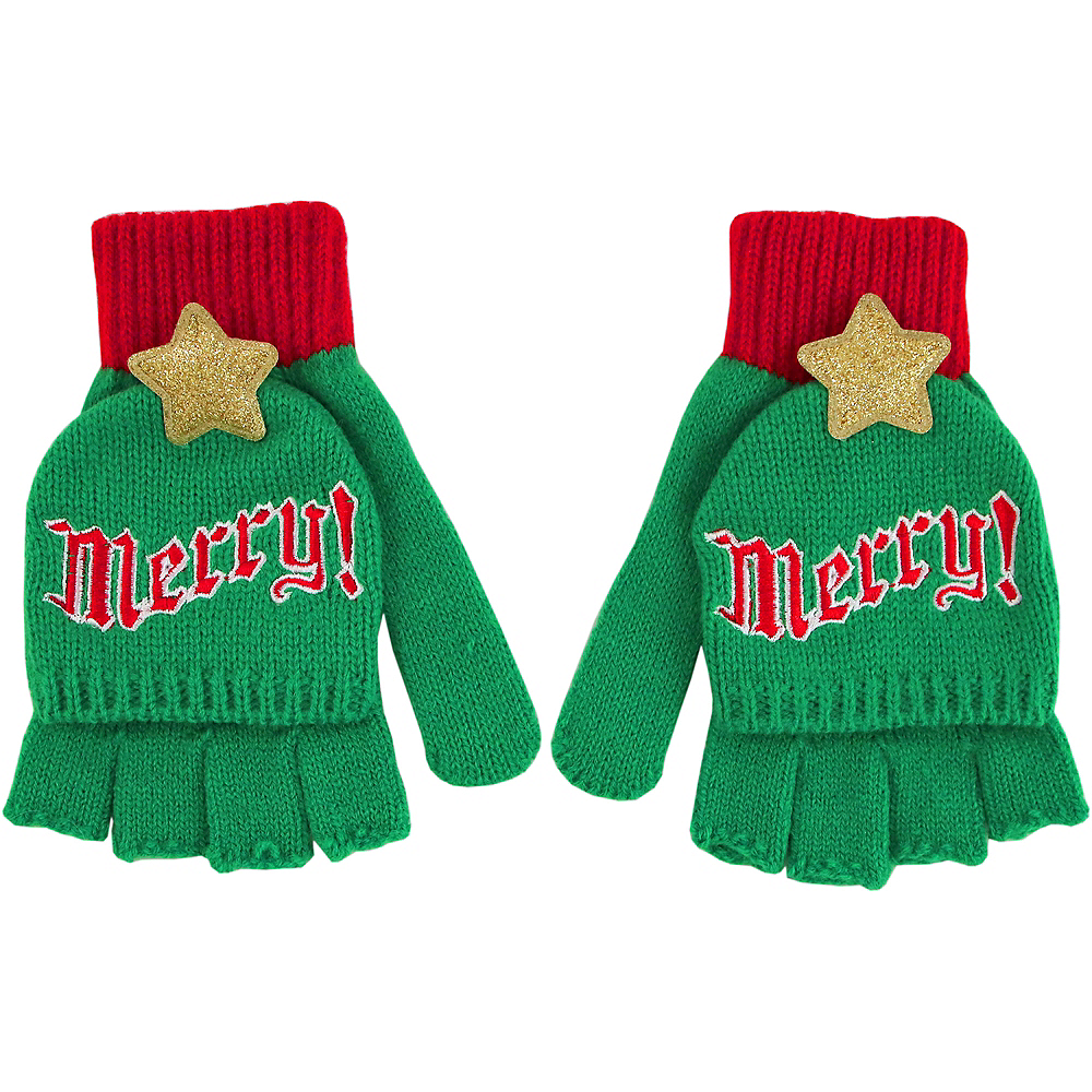 Merry! Fingerless Gloves Image #1