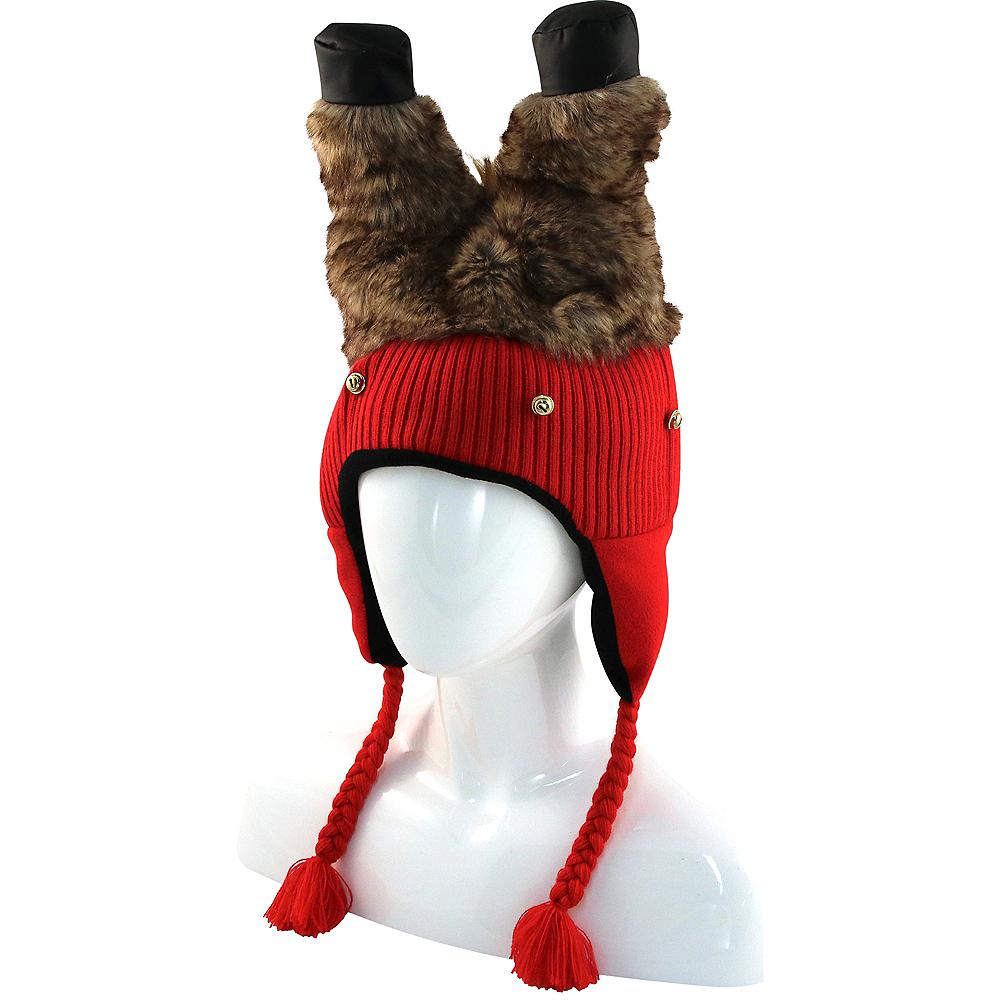 Reindeer Legs Peruvian Hat Image #2