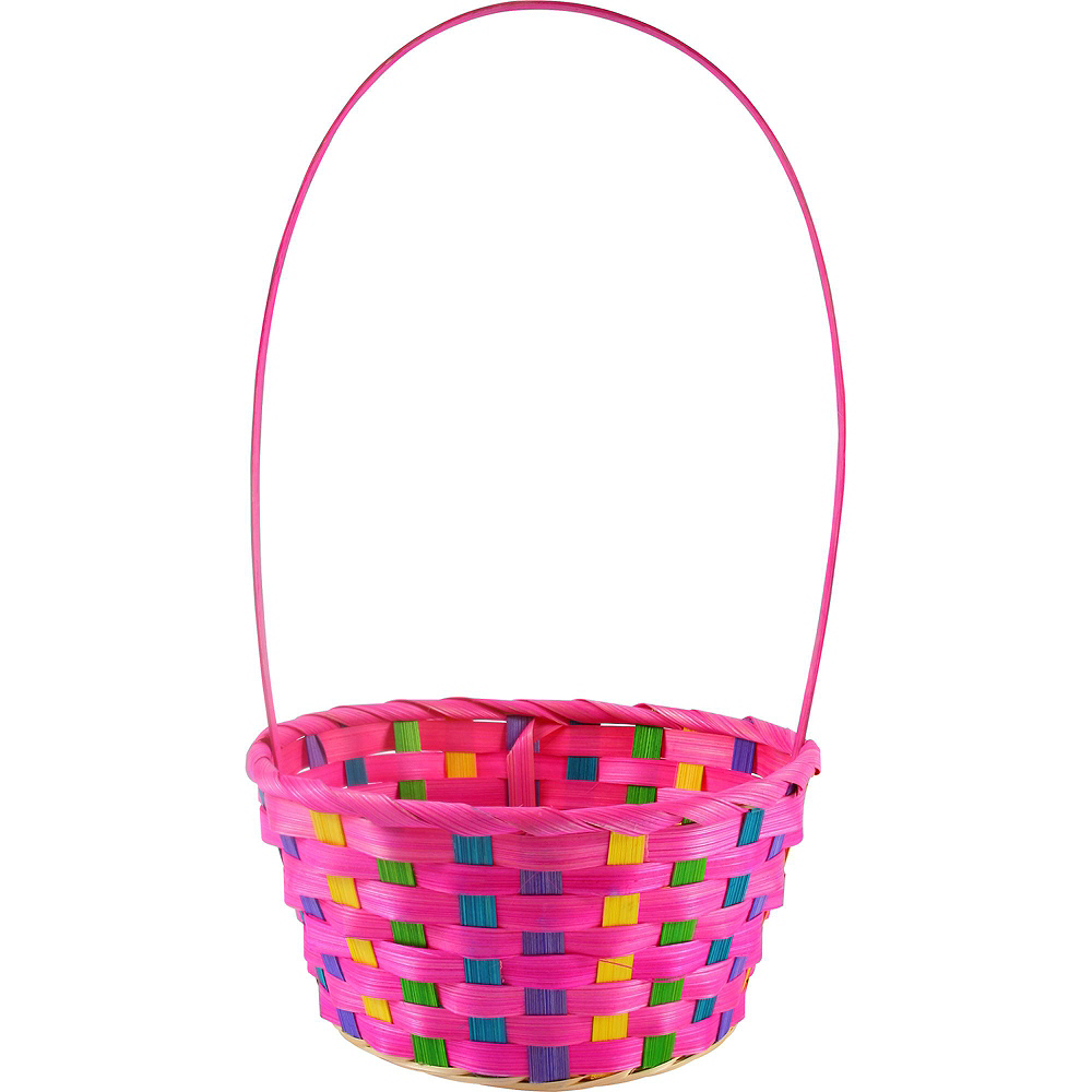 Colorful Bamboo Easter Baskets 12ct Image #2