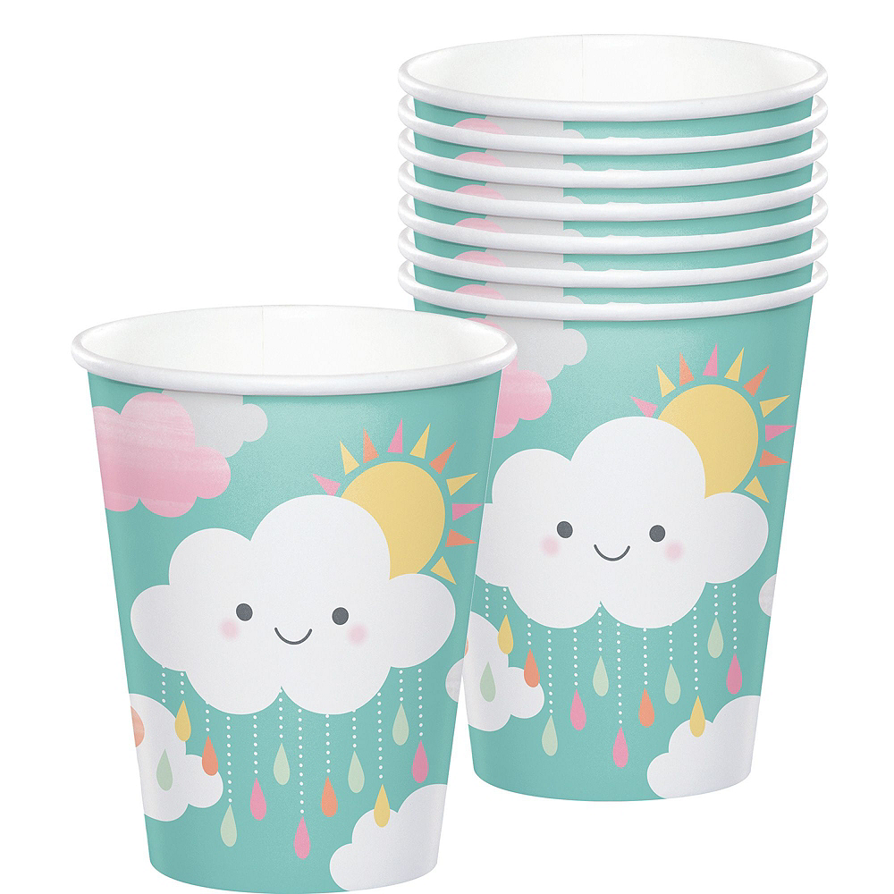 Ultimate Happy Clouds Baby Shower Kit for 32 Guests Image #6