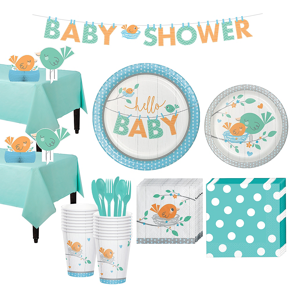 Nav Item for Hello Boy Baby Shower Kit for 16 Guests Image #1