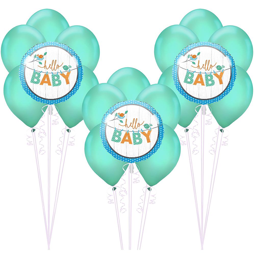 Hello Boy Baby Shower Balloon Kit Image #1