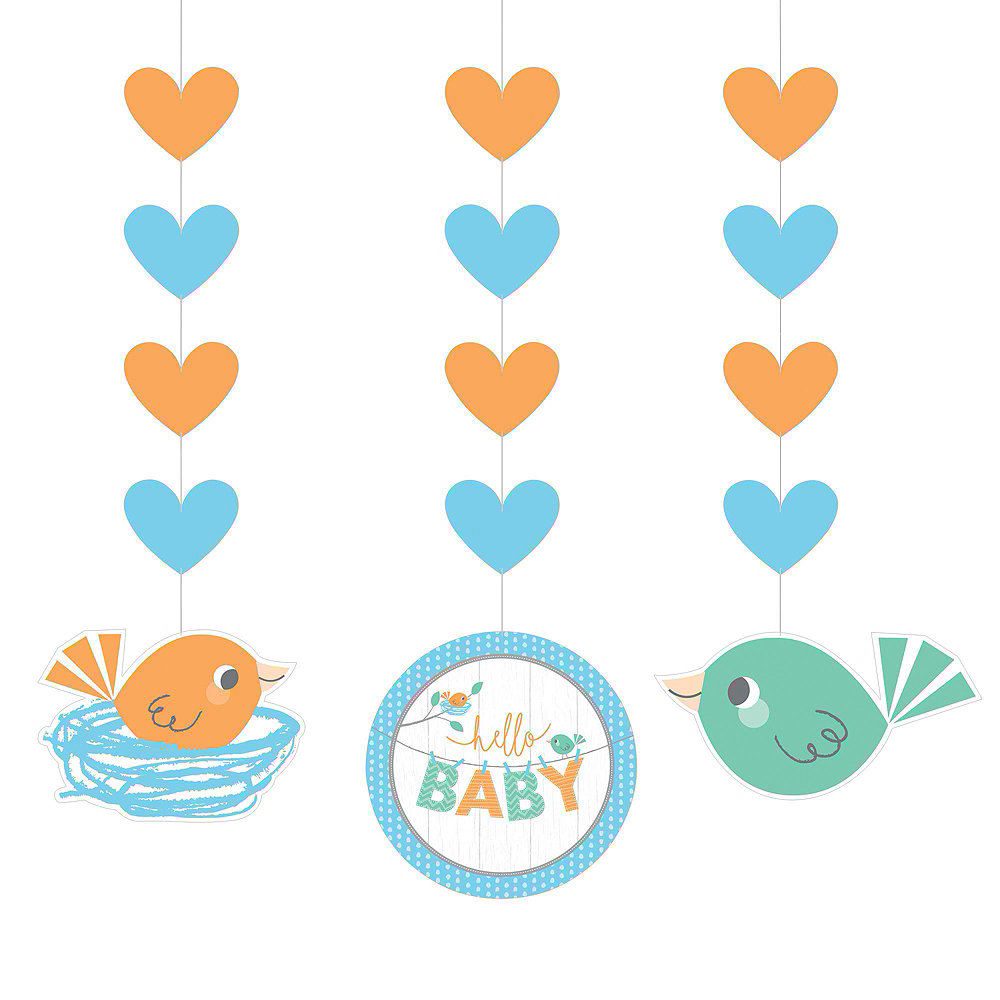 Ultimate Hello Boy Baby Shower Kit for 32 Guests Image #6