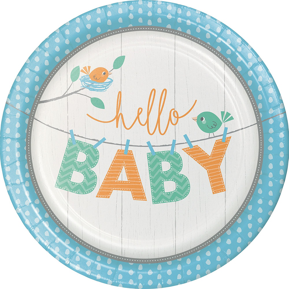 Ultimate Hello Boy Baby Shower Kit for 32 Guests Image #11
