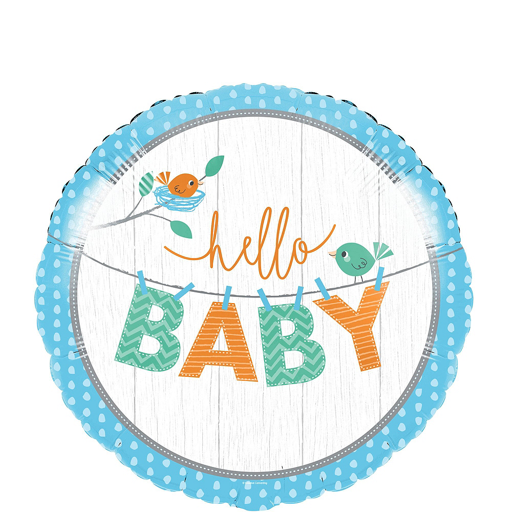 Ultimate Hello Boy Baby Shower Kit for 32 Guests Image #15