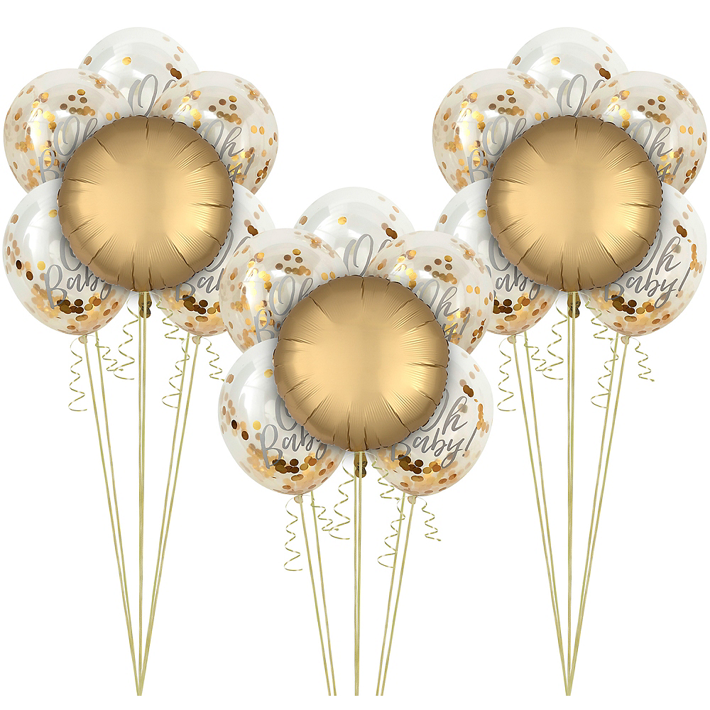 Metallic Polka Dots Balloon Kit Image #1