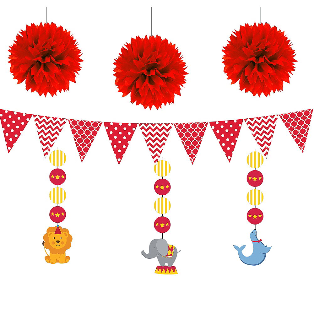 Carnival Baby Shower Decorating Kit Image #1