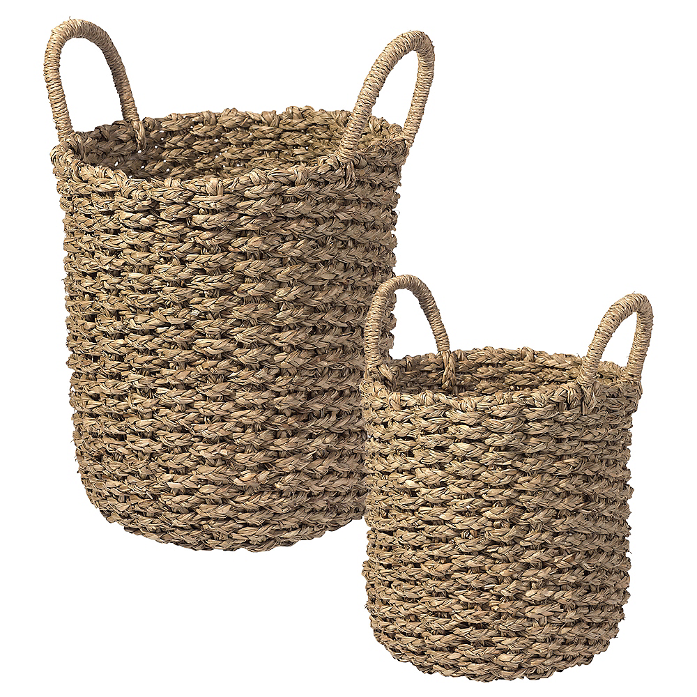 Woven Baskets 2ct Image #1