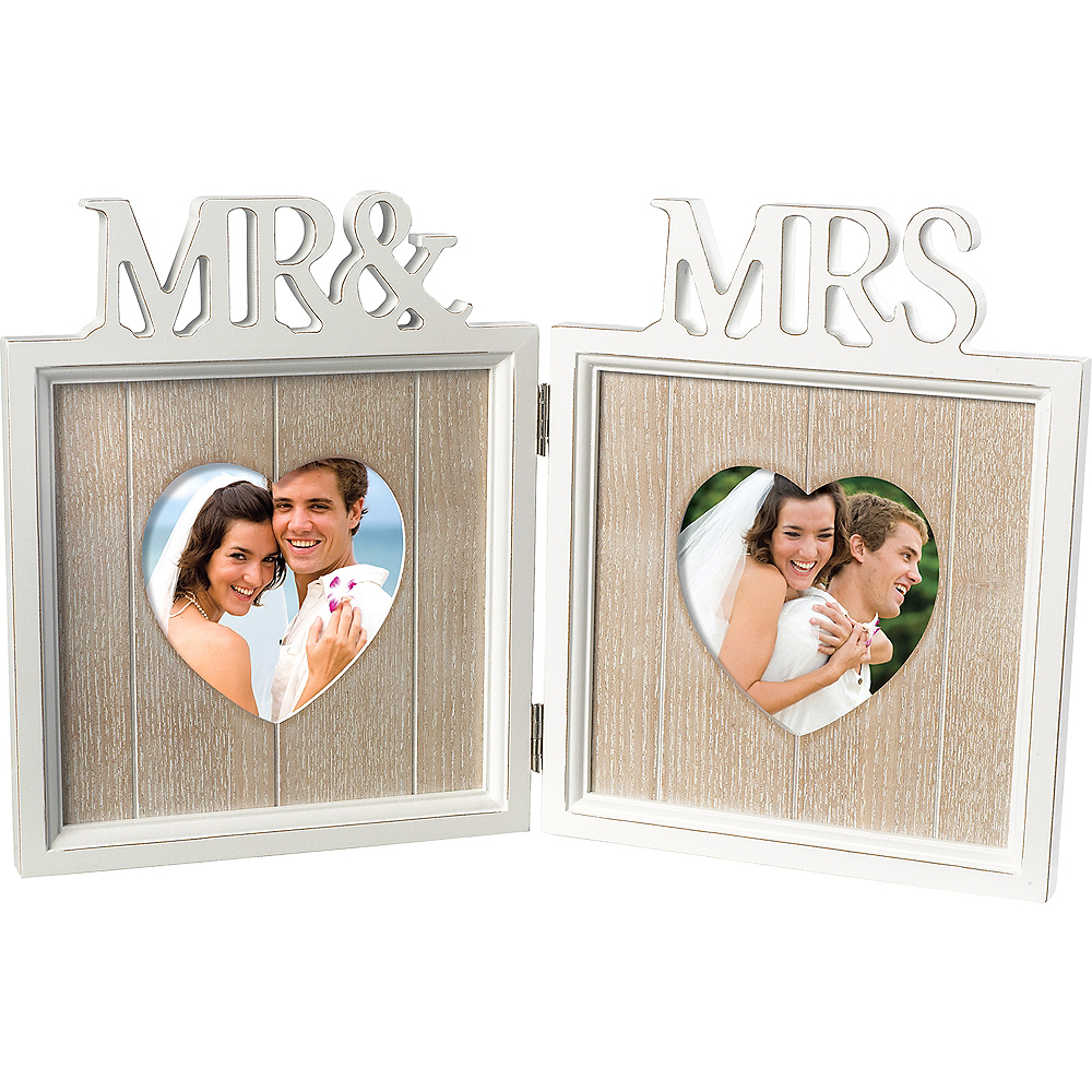 Mr. and Mrs. Double Frame Image #1