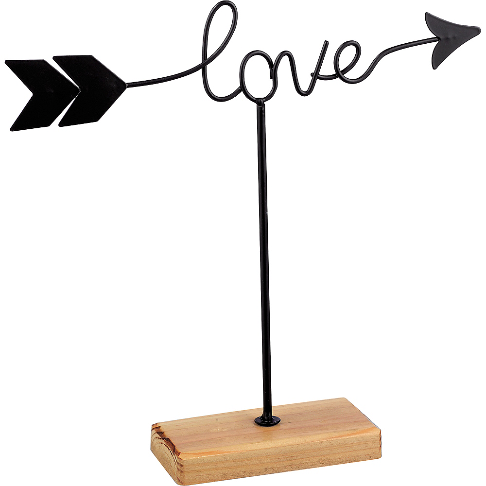 Happy and Love Arrow Sign Image #2
