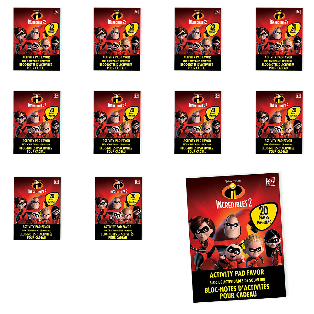 Incredibles 2 Activity Pads 48ct Image #1