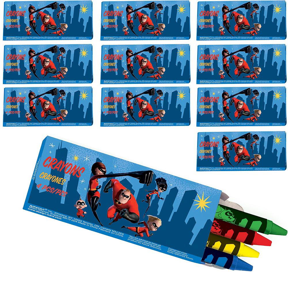 Incredibles 2 Crayon Boxes 48ct Image #1