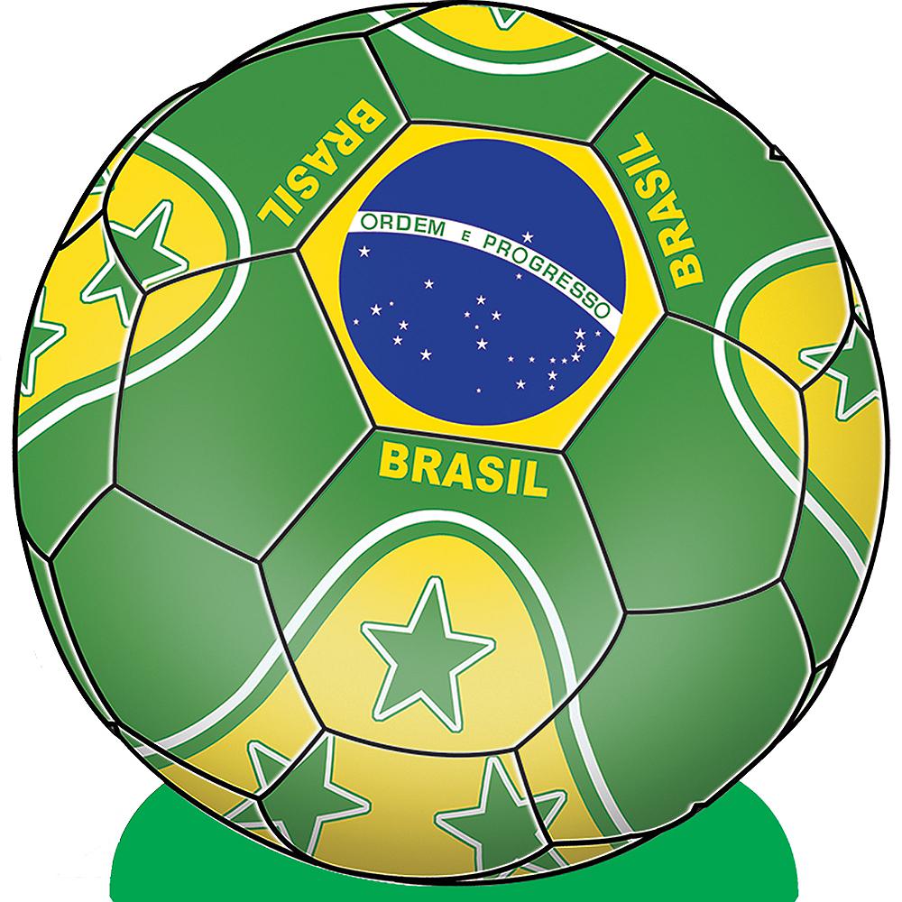 Brazil Soccer Ball Centerpiece Image #1