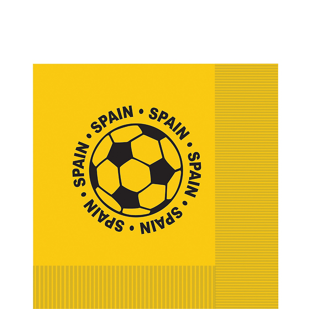 Spain Soccer Lunch Napkins 16ct Image #1