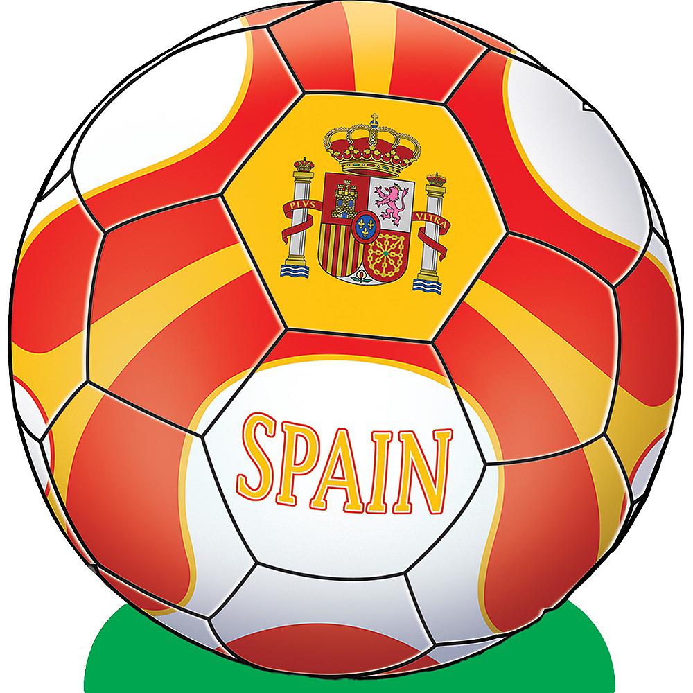 Spain Soccer Ball Centerpiece Image #1