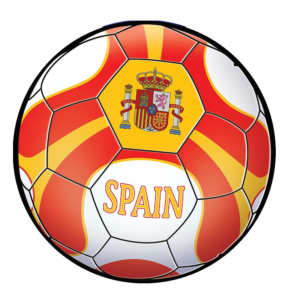 Spain Soccer Ball Sticker Image #1