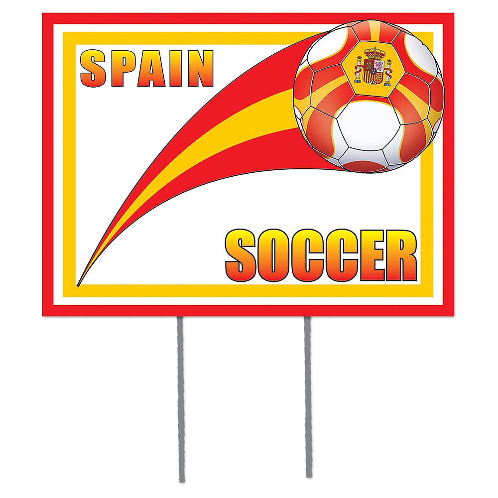 Spain Soccer Yard Sign Image #1