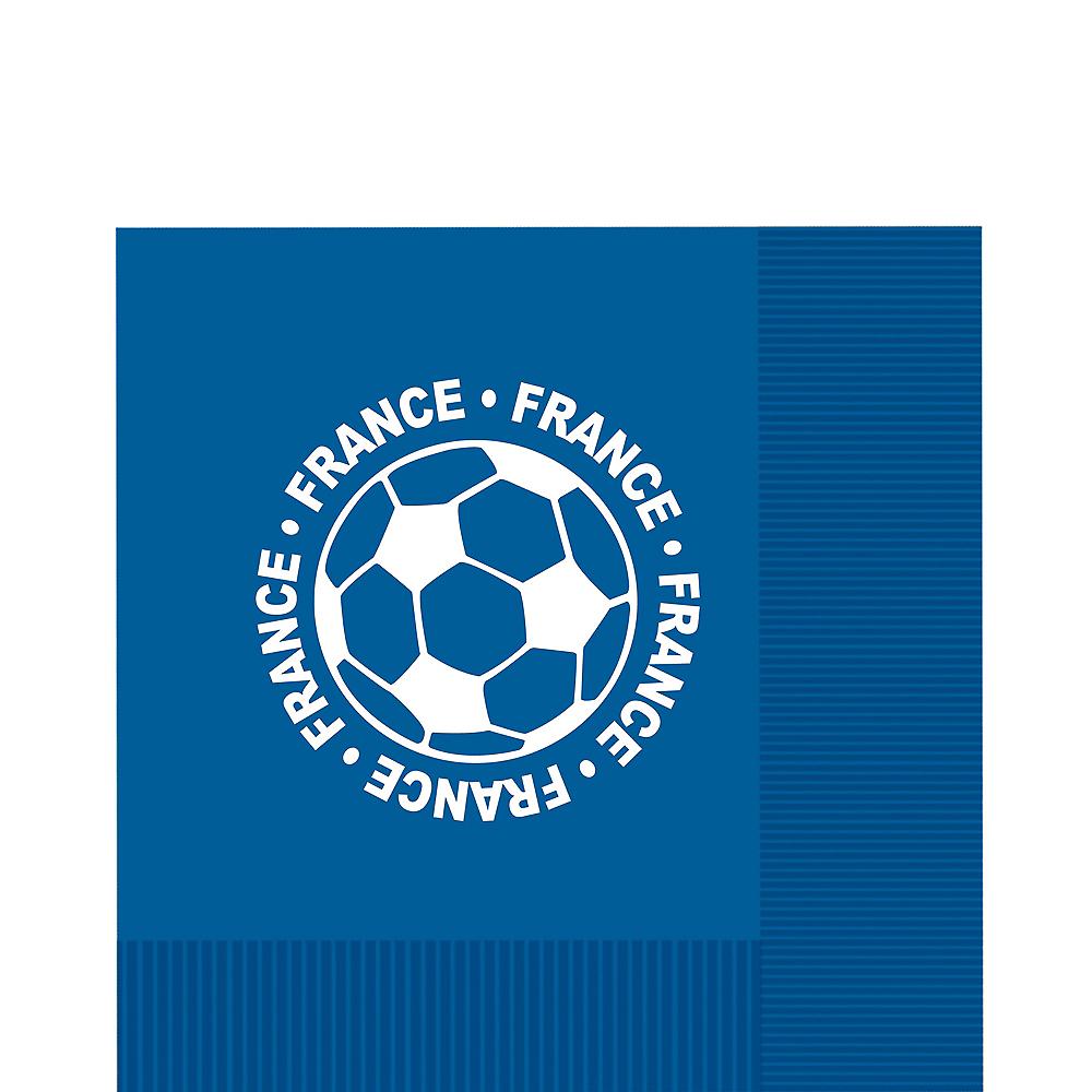 France Soccer Lunch Napkins 16ct Image #1