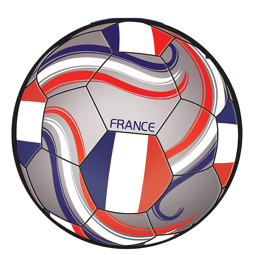France Soccer Ball Sticker Image #1