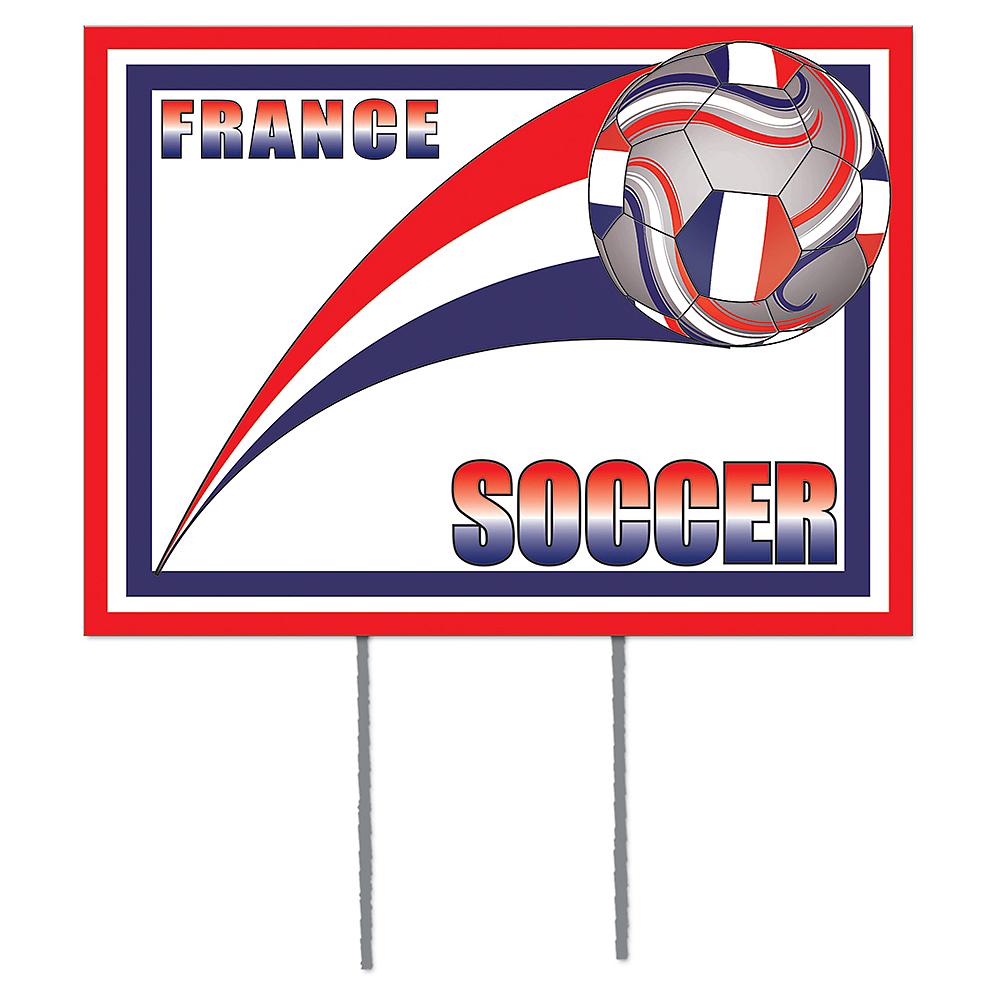 France Soccer Yard Sign Image #1