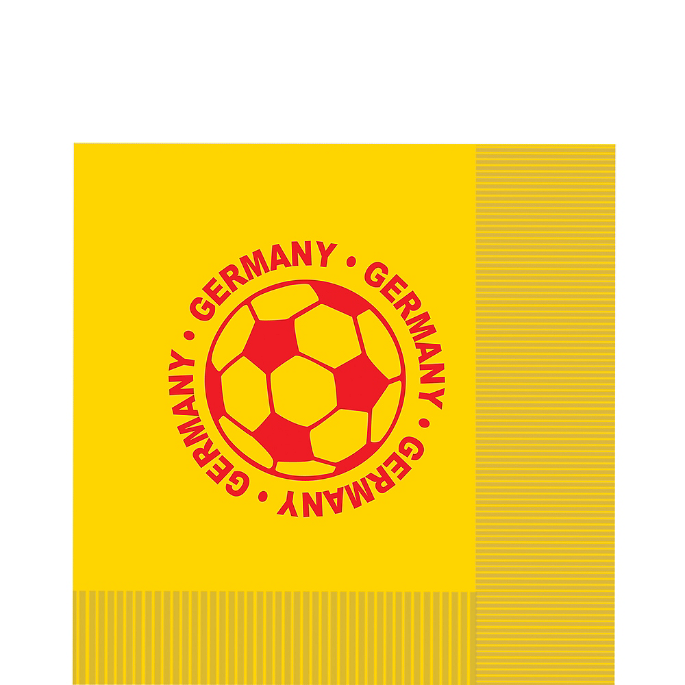 Germany Soccer Lunch Napkins 16ct Image #1