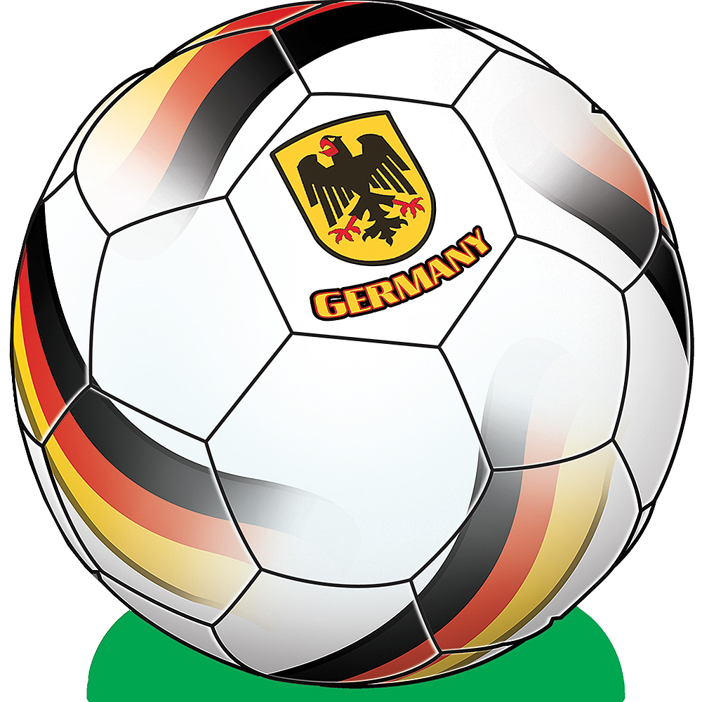 Germany Soccer Ball Centerpiece Image #1