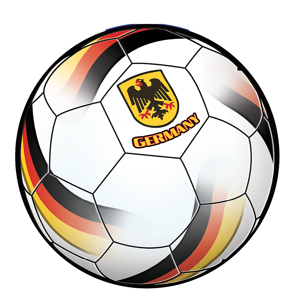 Germany Soccer Ball Sticker Image #1