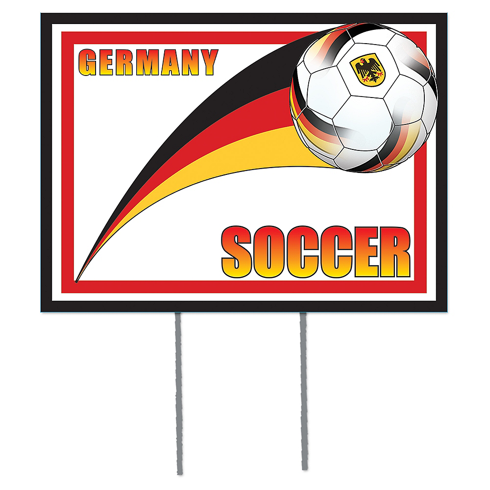 Germany Soccer Yard Sign Image #1