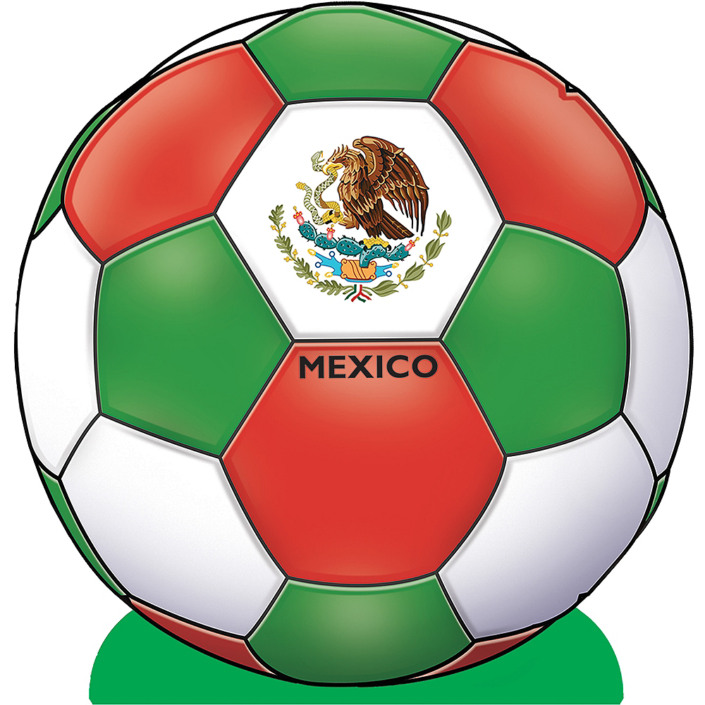 Mexico Soccer Ball Centerpiece Image #1