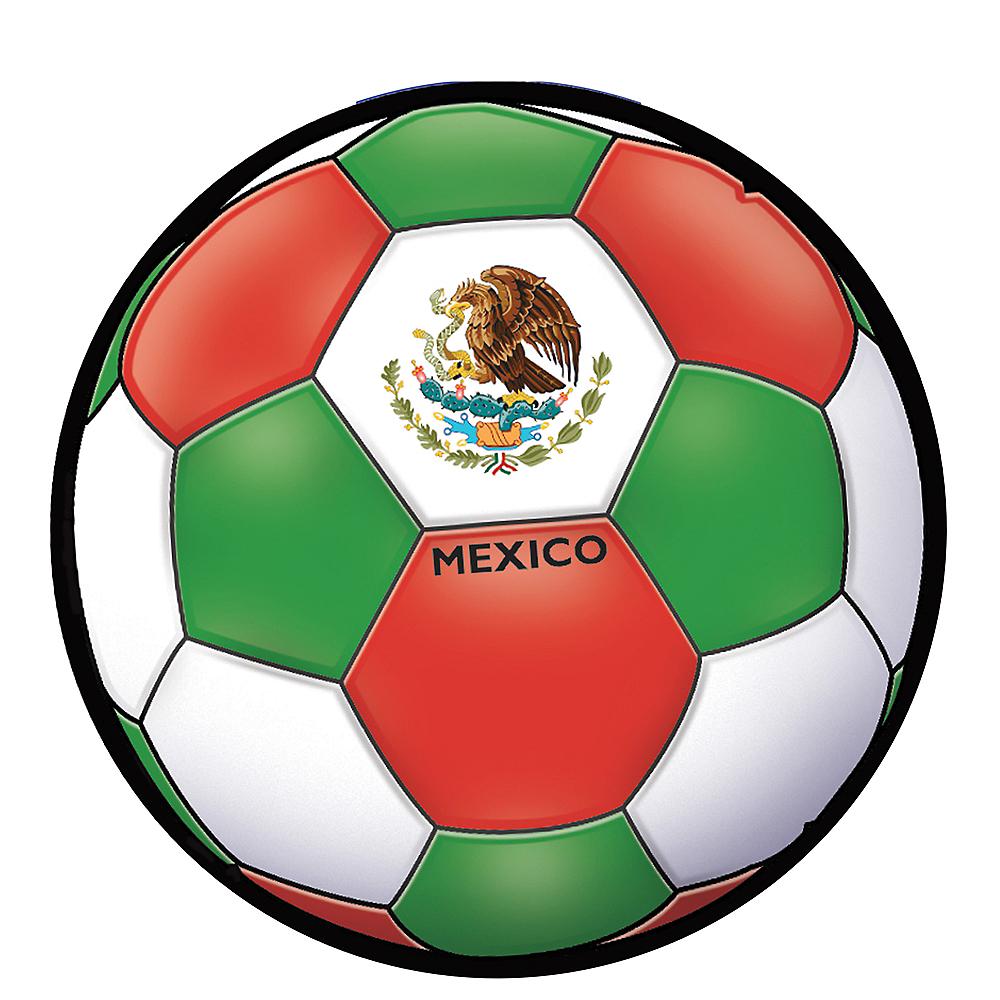 Mexico Soccer Ball Sticker Image #1