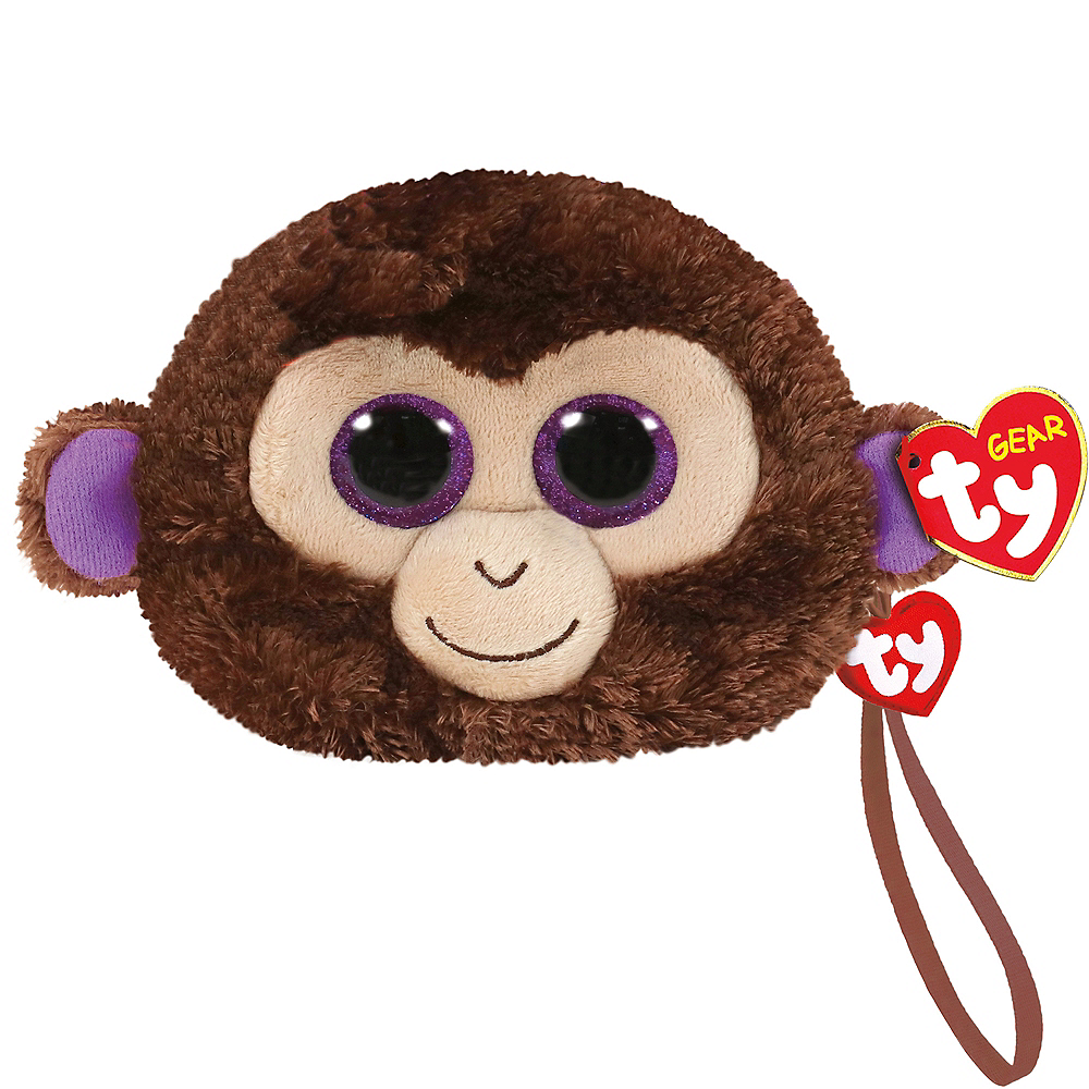 Coconut the Monkey Plush Wristlet Image #1