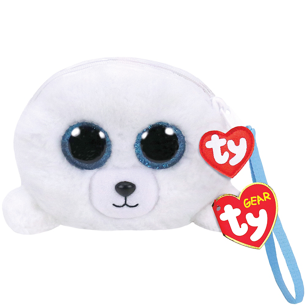 Icy the Seal Plush Wristlet Image #1