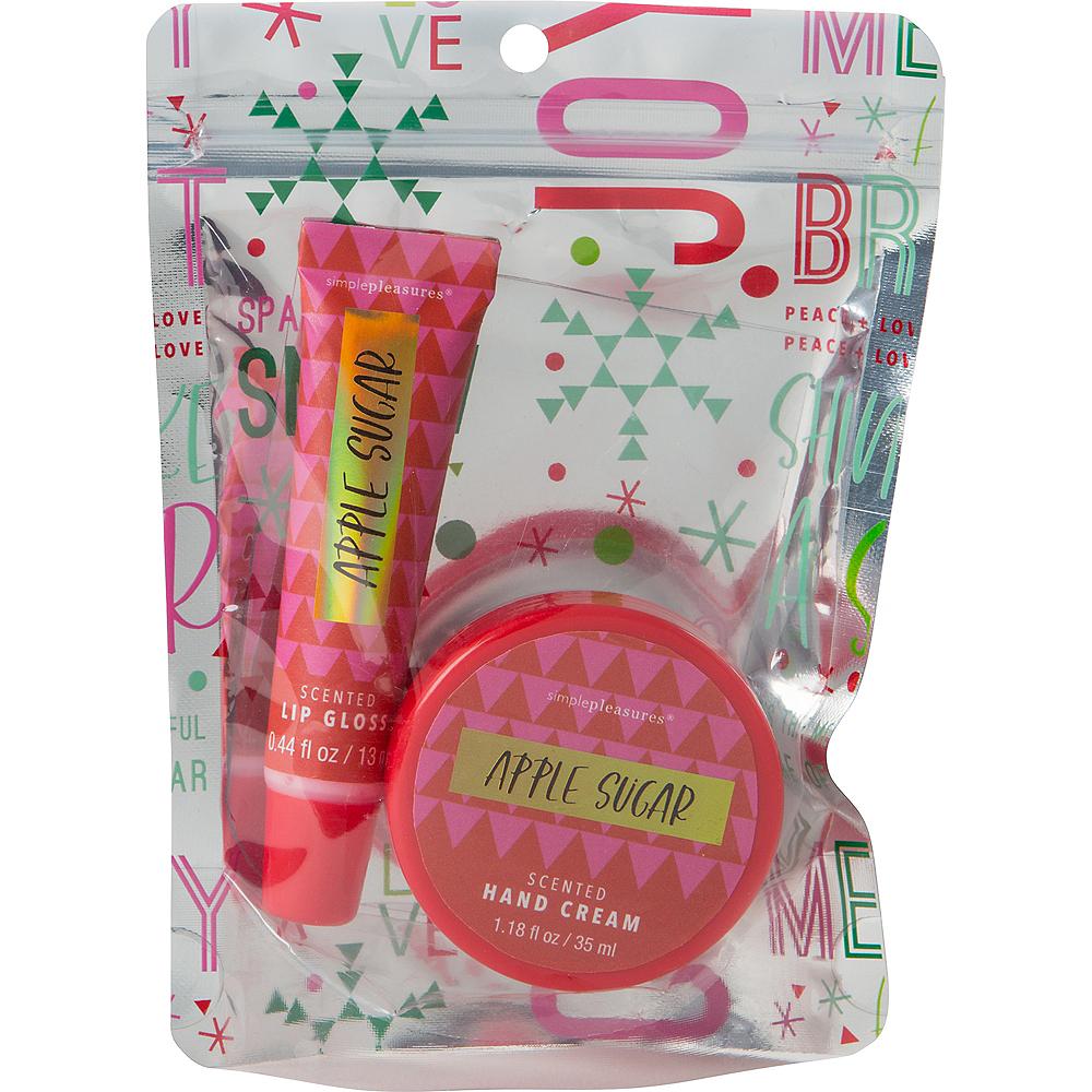 Apple Sugar Hand Cream & Lip Gloss Set Image #1