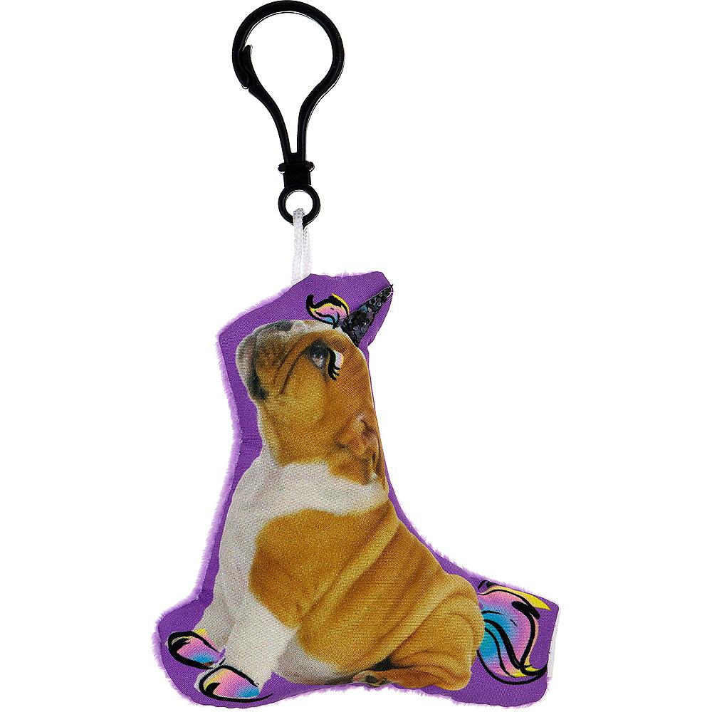 Clip-On Puppy Unicorn Plush Image #1