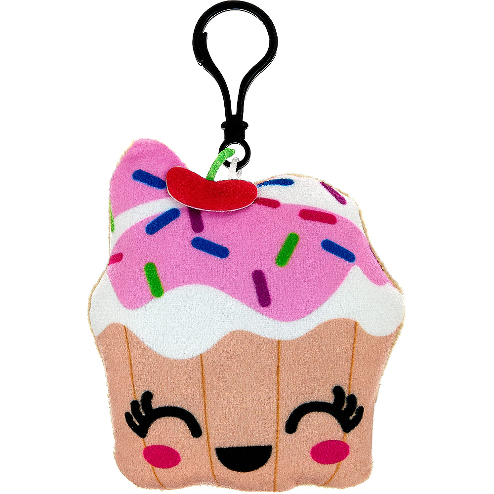 Clip-On Cupcake Plush Image #1