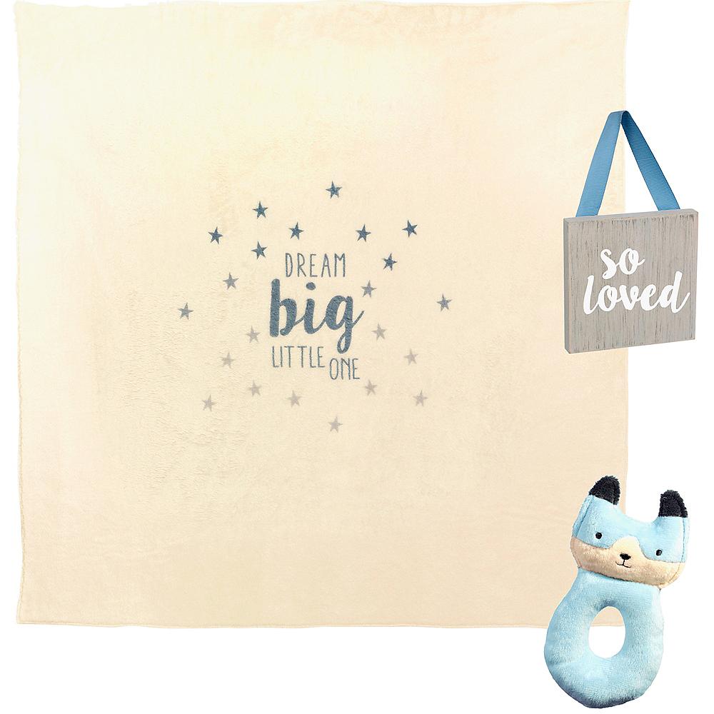 Blue Newborn Gift Set 3pc Image #2