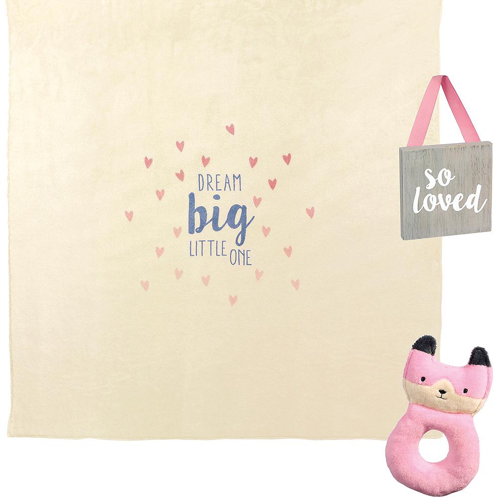 Pink Newborn Gift Set 3pc Image #2