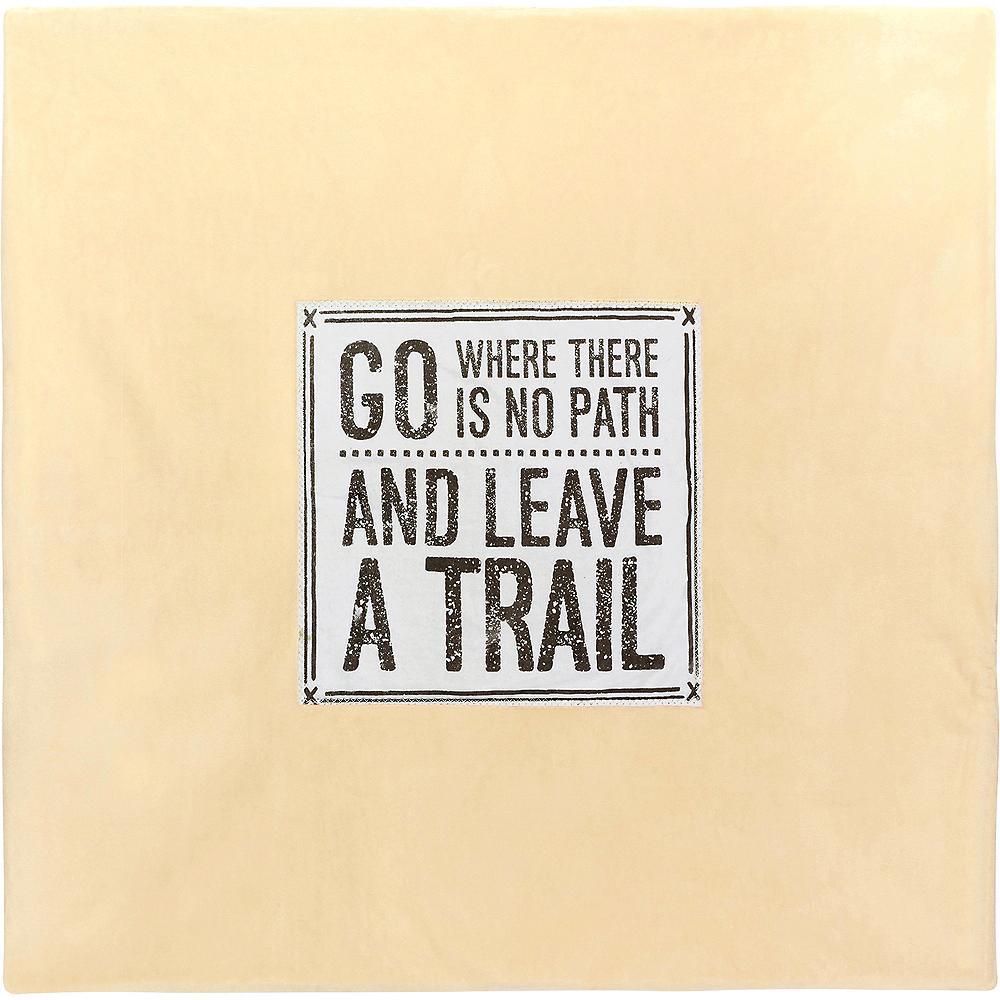 Leave A Trail Stroller Blanket Image #2