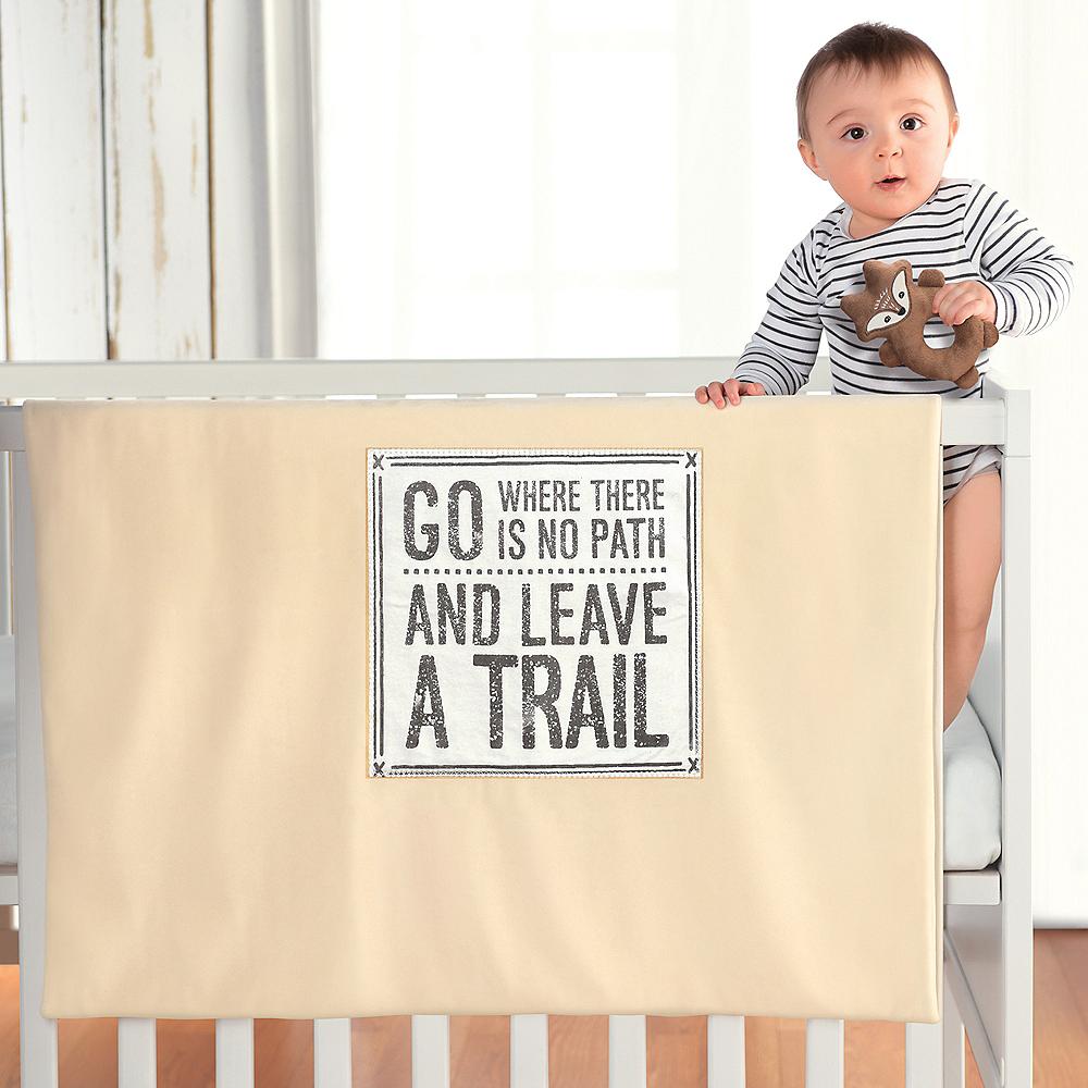 Leave A Trail Stroller Blanket Image #4