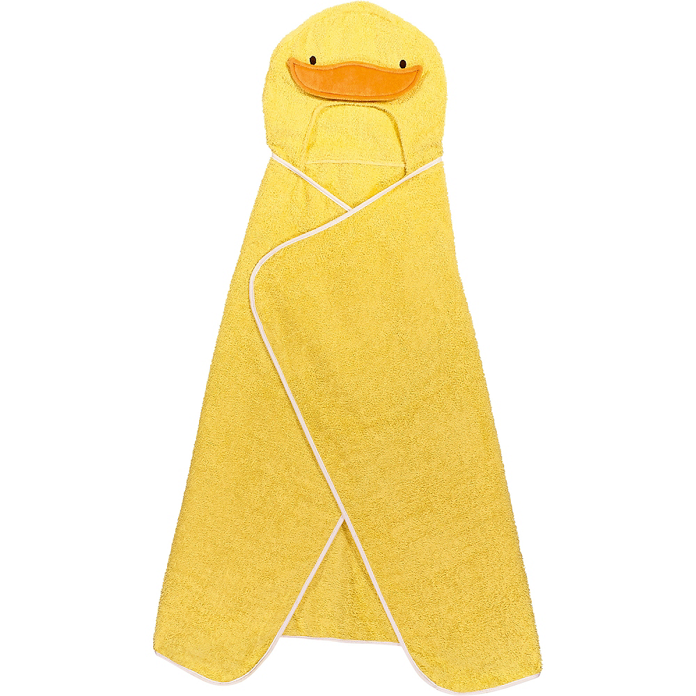 Hooded Duck Towel with Rubber Ducks Image #4