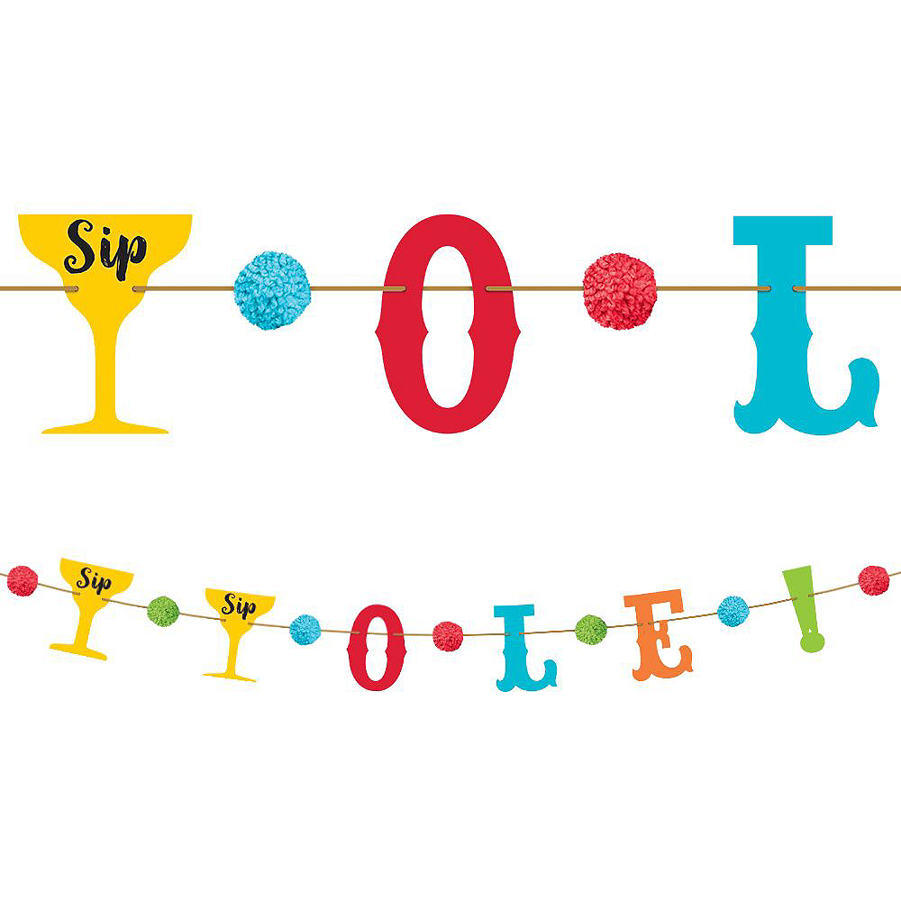 Fiesta Time Party Decorating Kit Image #3