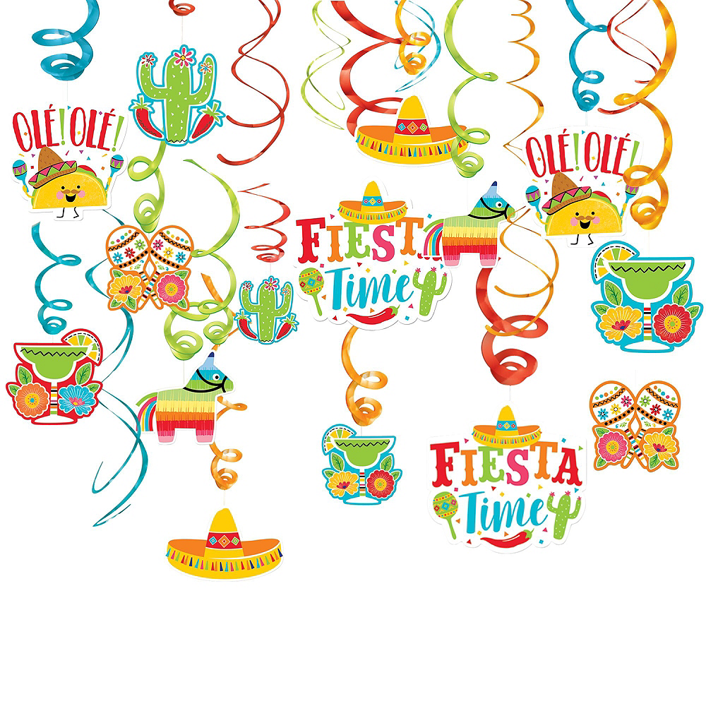 Fiesta Time Party Decorating Kit Image #6