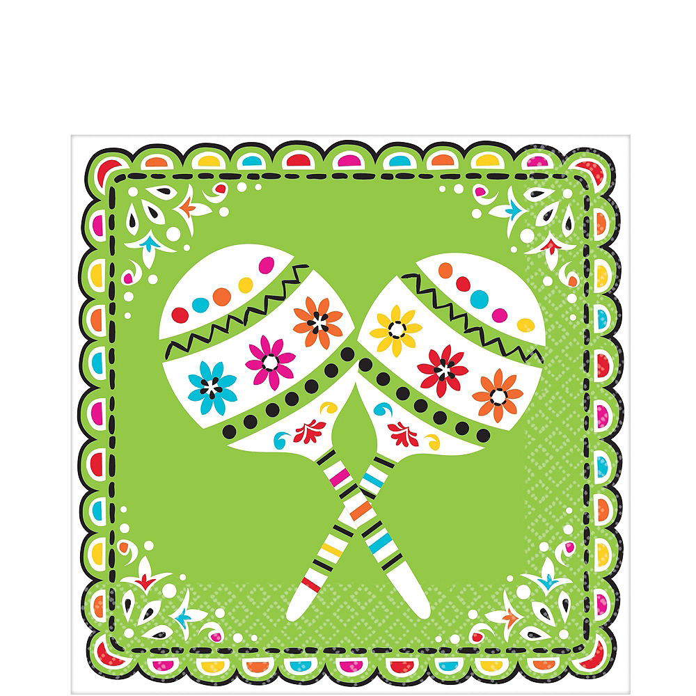Nav Item for Papel Picado Cinco de Mayo Party Kit for 18 Guests Image #5