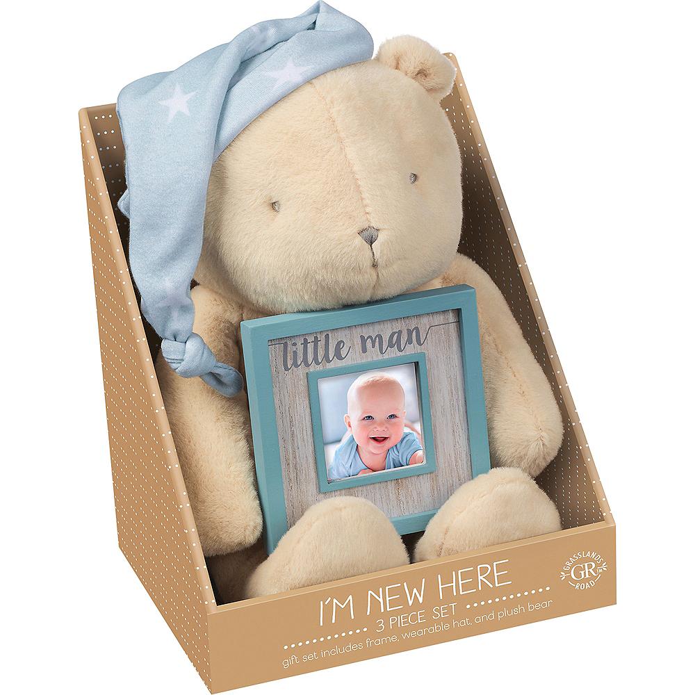 Teddy Bear Plush with Photo Frame Set 3pc Image #2