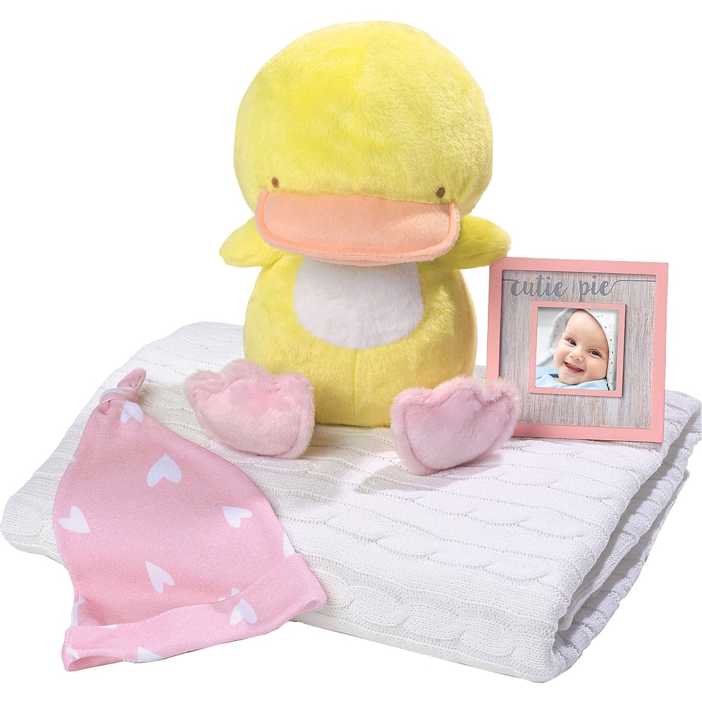 Teddy Duck Plush with Photo Frame Set 3pc Image #1