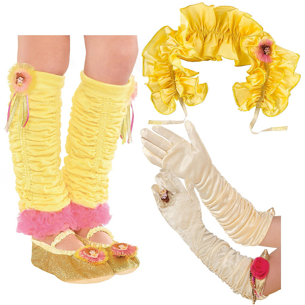 Child Belle Dress Up Kit - Beauty and the Beast Image #1