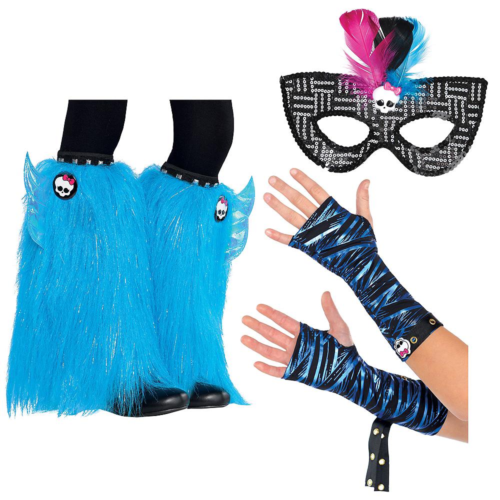 Child Monster High Blue Monster Dress Up Kit Image #1
