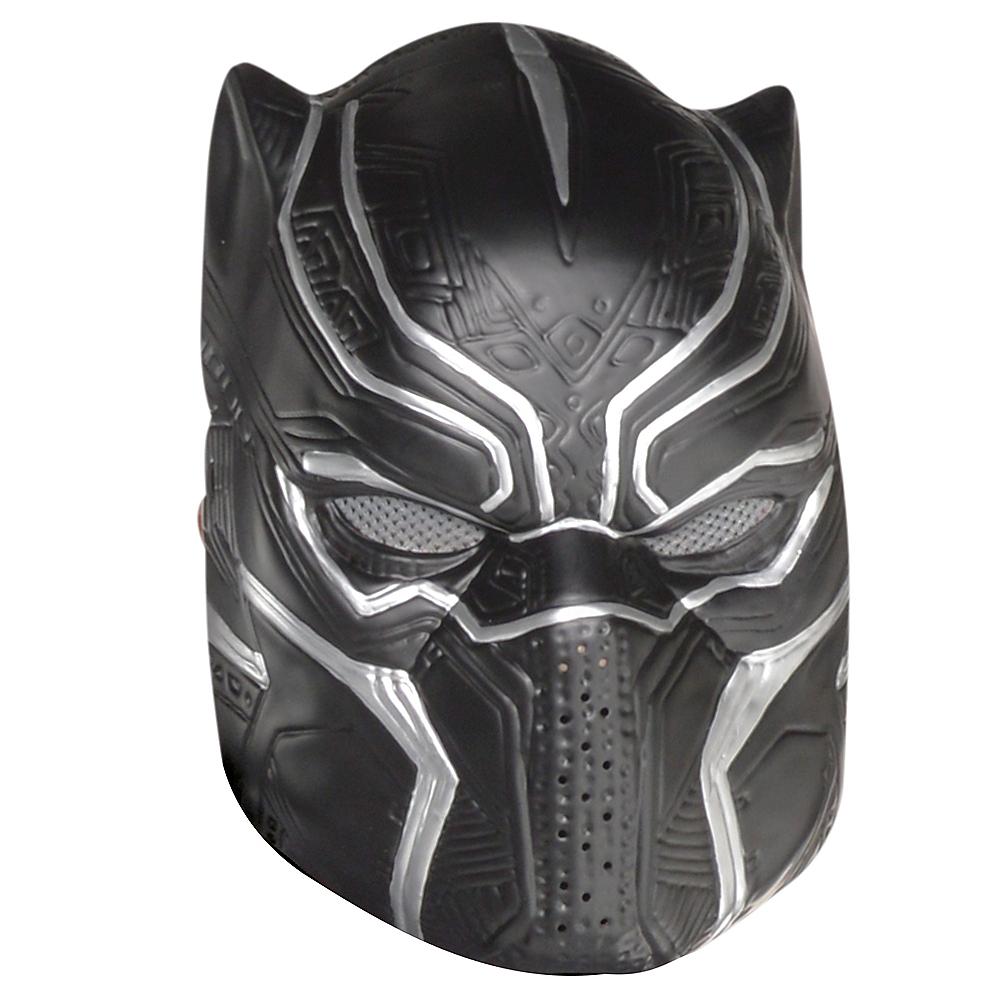 Adult Black Panther Mask Image #1