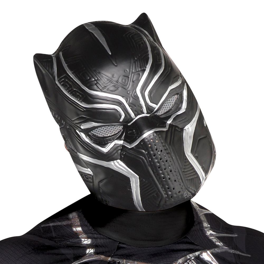 Adult Black Panther Mask Image #2