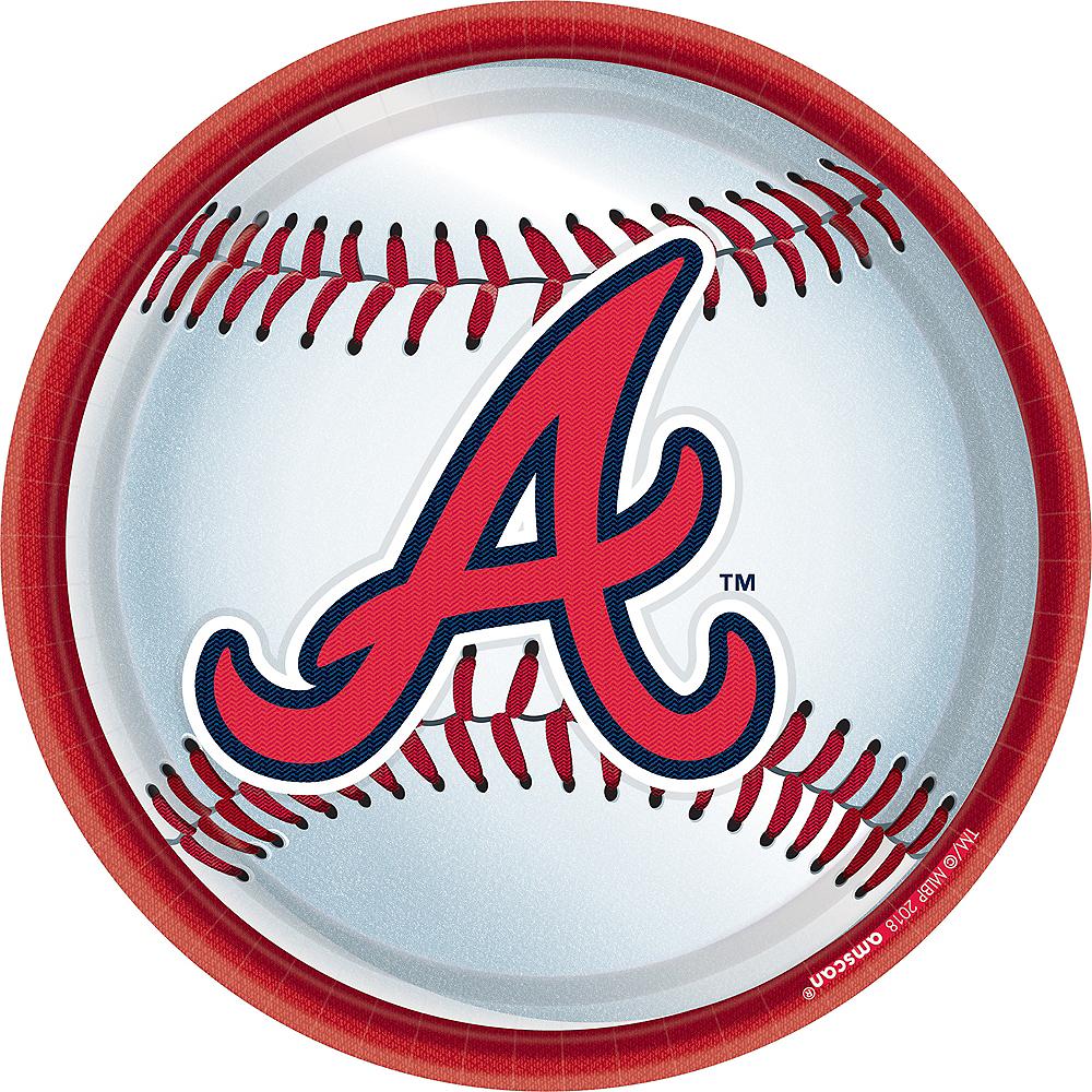 Atlanta Braves Lunch Plates 18ct Image #1